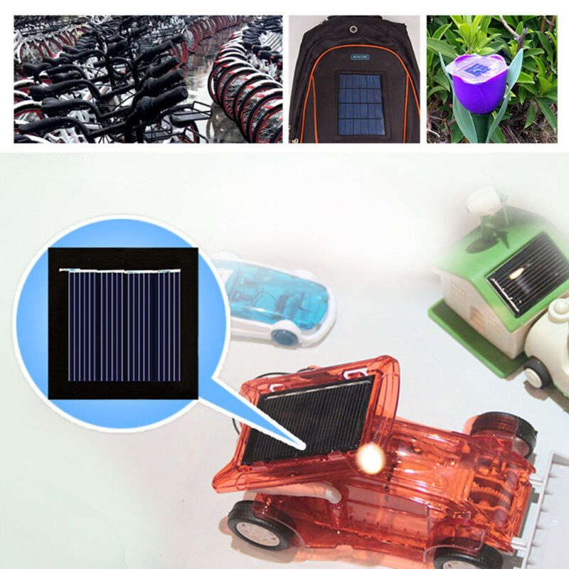 Bike Battery Power Mini System Mono Solar Panel Phone Charge