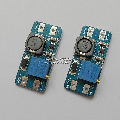 2PCS DC-DC 2A Adjustable Step Up Boost Power Supply Converter Module N108