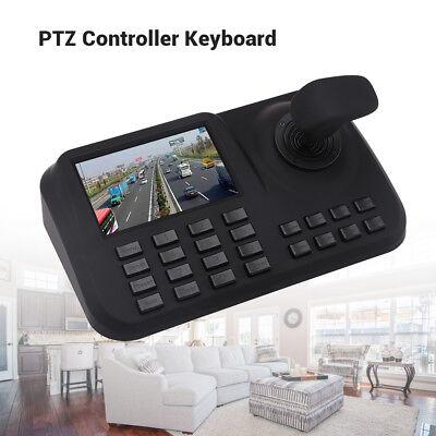3D Joystick PTZ Keyboard Controller Network Speed Zoom Pan Tilt IP Camera 5 Inch