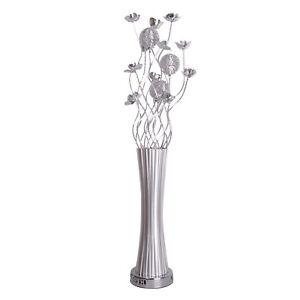 Modern Contemporary Aluminium Flower Vase Design Floor Lamp Floral Lighting NEW