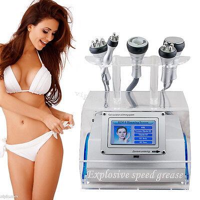5 In 1 Rf Radio Frequency Ultrasound Vacuum Cavitation Slimming Fat Burning Usa