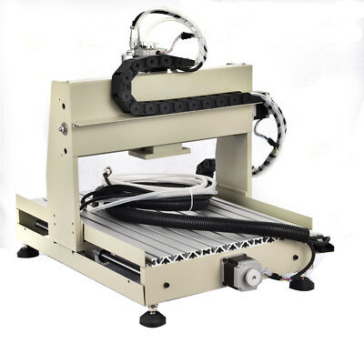 0.8kw Spindlevfd Cnc 4 Axis Router 3040z Engraver Machine Mill Drillcontroller