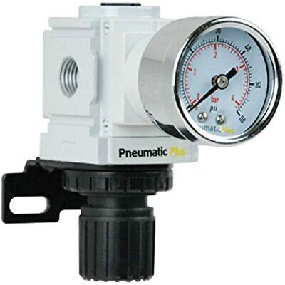 Ppr2-n02bg-4 Miniature Air Pressure Regulator 14 Npt Gauge Bracket Low 3-60