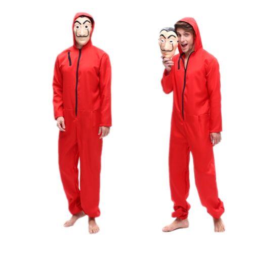 Salvador Dali La Casa De Papel Cosplay Costume Money Heist F