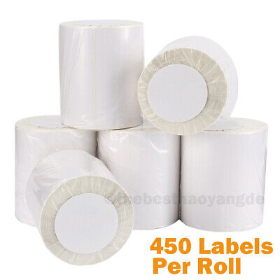 2-20 Rolls 4x6 450roll Direct Thermal Shipping Labels Zebra Eltron 2844 Zp450