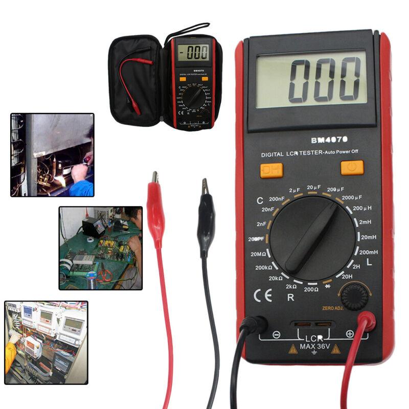 1999 BM4070 LCR Meter Self-discharge Capacitance Inductance Resistance +Clip NEW