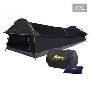 AUS FREE DEL-Compact Deluxe King Single Swag Camping Swag Grey Sydney City Inner Sydney Preview