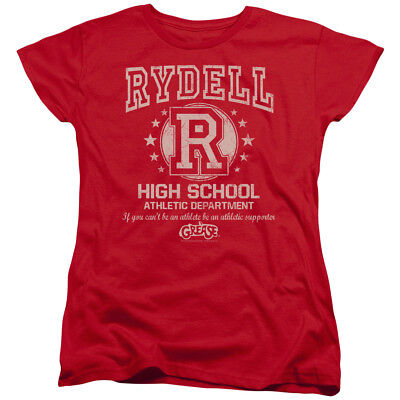 Grease Movie Rydell High Women's T-Shirt Tee - Rydell High