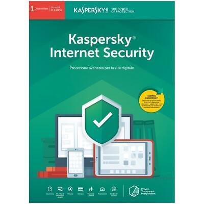 kaspersky internet security 2020 1 PC 1 Year For South & North America , usado segunda mano  Embacar hacia Argentina