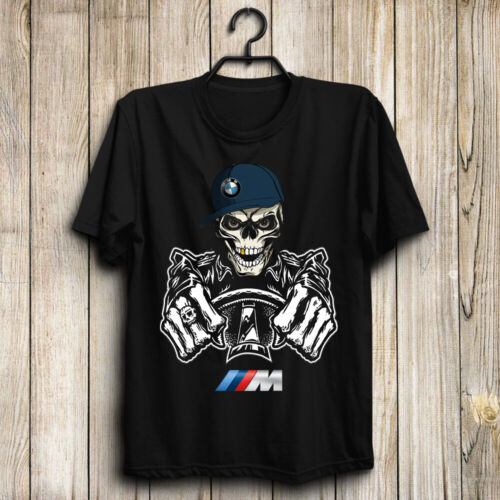 BMW M/M2/M3/M4/M5/M8/X3 M/X4 M/X6 M Men's US Shirt-Skull Funny Top Gift Birthday