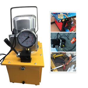 Electric Driven Hydraulic Pump 10000PSI Single Acting 110V 60Hz 7L Oil Capacity
