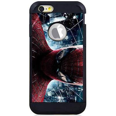 Iphone 6S/6S Plus/7/7 Plus Hybrid Case Cover Spiderman Realpix City