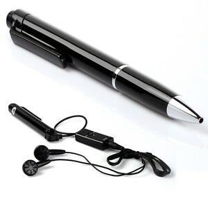 Brand New 4GB Stereo USB Pen Drive Digital Audio Voice Recorder MP3 64 Hrs-Black