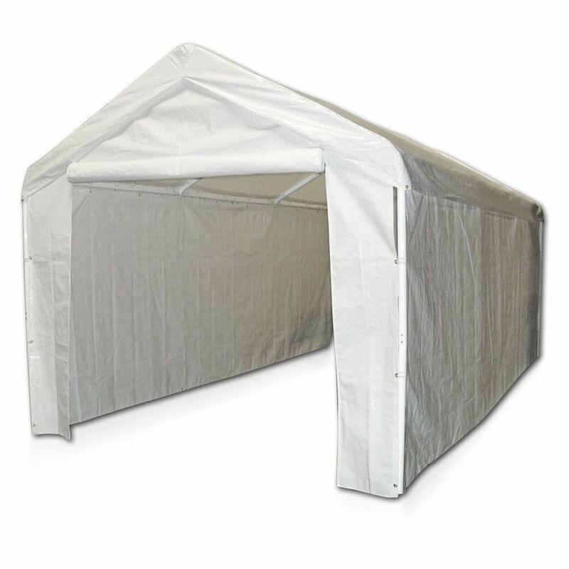 10x20 Canopy Garage Side Wall Kit Car Shelter Big Tent Parki