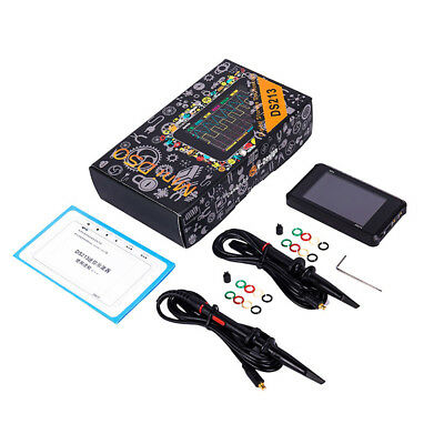 Sainsmart Arm Dso213 Aluminium Digital Oscilloscope Nano Mini V2 Quad Pocket