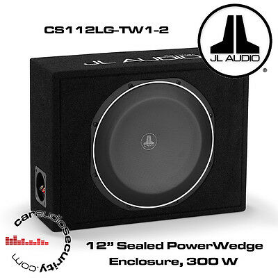 JL AudioCS112LG-TW1-2 PowerWedge 12
