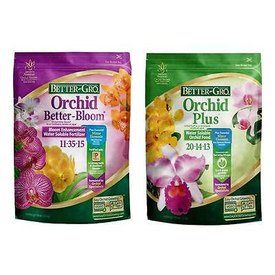 (2 lb. Orchid Plant Food Water Soluble Flower Fertilizer Better-Bloom Combo Pack)