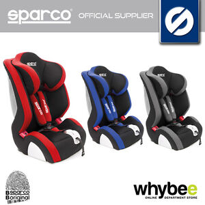 00926 sparco f1000 k childrens baby car seat group 1 2 3 9 36kg age 1 to 12 yrs ebay. Black Bedroom Furniture Sets. Home Design Ideas