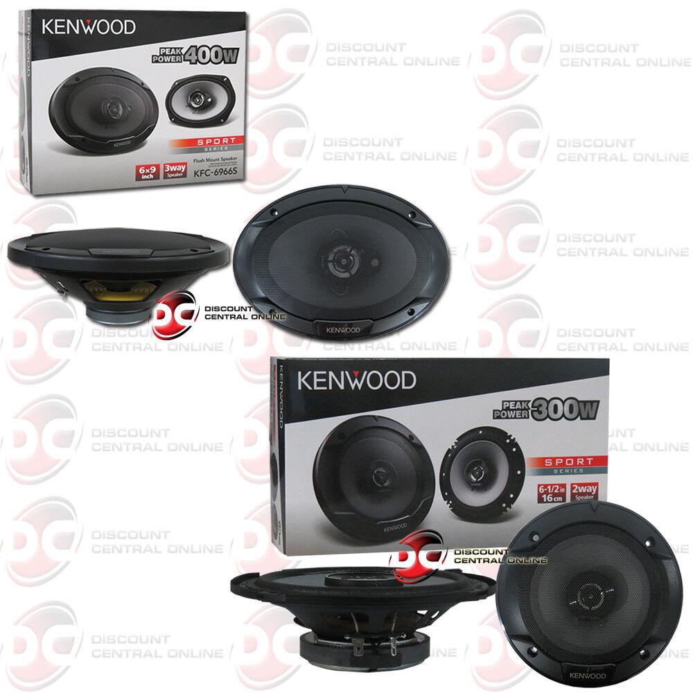 "KENWOOD KFC-6966S 6""x 9"" 3-WAY SPEAKERS PLUS 6.5"" 2-WAY CAR"