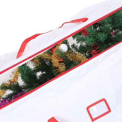 Christmas Tree Storage Extra Large Bag Holiday Heavy Duty Holds 9ft Easy Carry