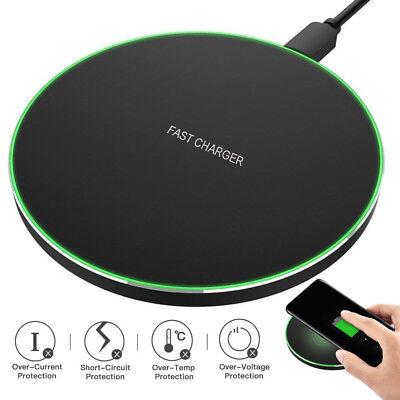 Qi Wireless Charger Schnelles Ladegerät für Ladestation Handy Smartphone iPhone ()