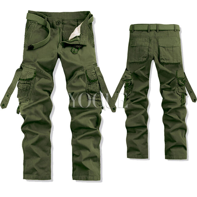 Men Military Army Camoflauge Camo Ranger Casual Trouser Combat ...