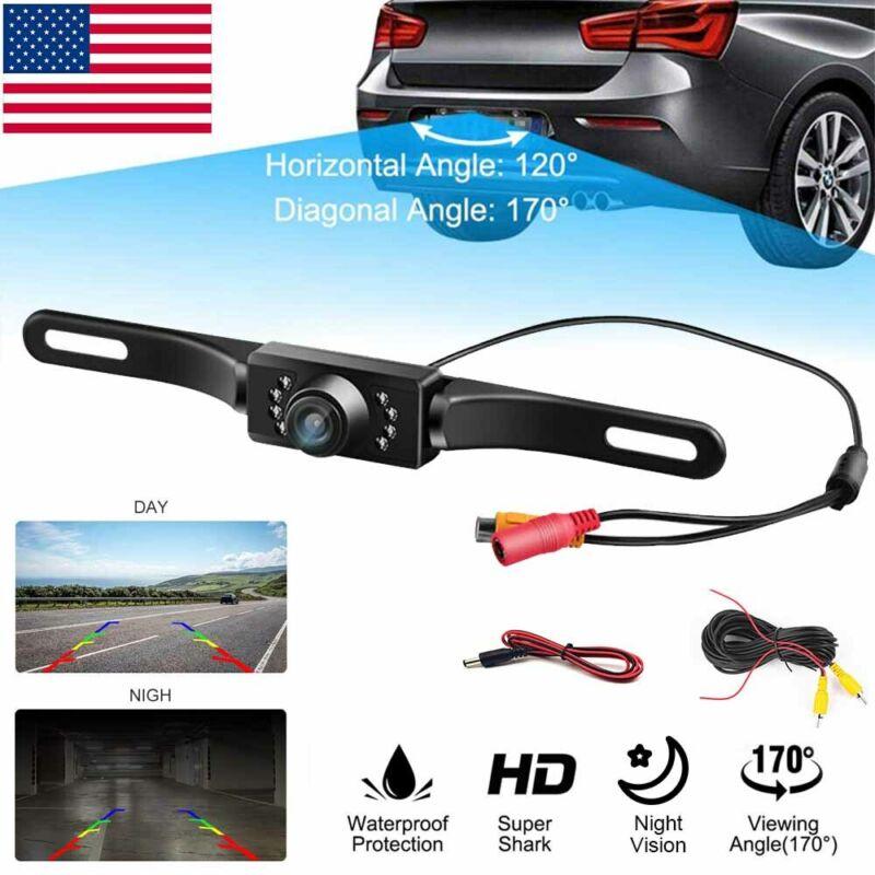 170° Car Rear View Backup Parking Reverse Camera CMOS HD Night Vision Waterproof