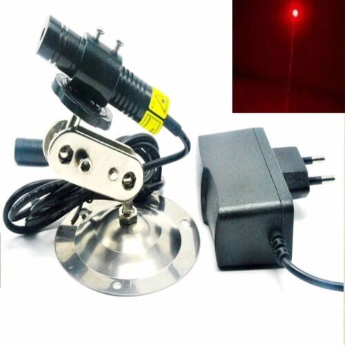 Focusable 200mW 648nm 650nm Red Laser Diode Dot Locator Module 16x68mm w ADPT&HL
