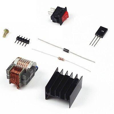 High Voltage Transformer 15kv Booster Coil Inverter Heat Sink Switch Diode S