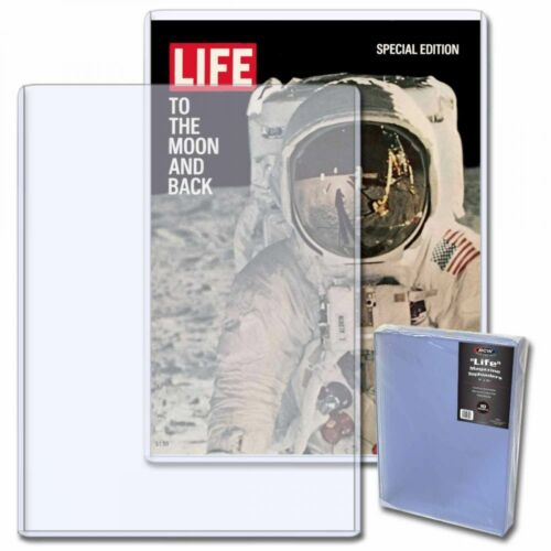 Pack of 10  High Quality BCW Life Magazine Topload Holder