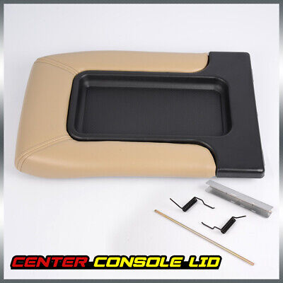 Center Console for 99-07 Chevy Silverado OEM GM Part 19127366 Lid Arm Rest Latch