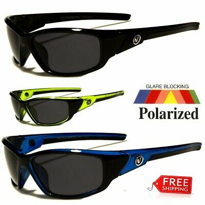 New POLARIZED Nitrogen Men Anti Glare Fishing Cycling Driving Sport Sunglasses