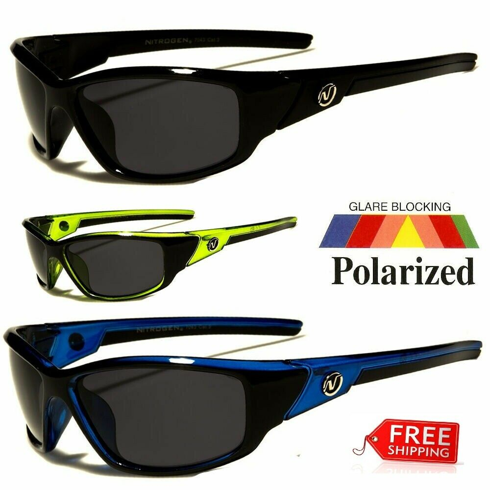 New POLARIZED Nitrogen Men Anti Glare Fishing Cycling Drivin