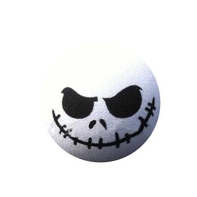 1 PC Halloween Skull Car Antenna Topper Aerial Ball Decor Accessories Toy White - Fiesta Halloween 2017