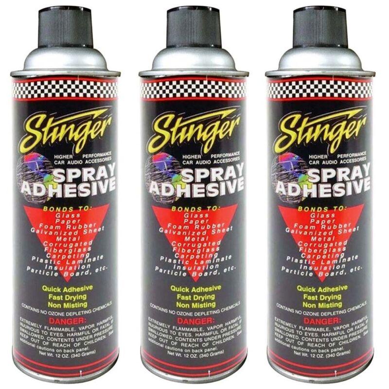 (Pack of 3) New Stinger SAS Adhesive Spray