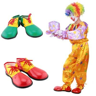 Halloween Cosplay Adult Circus Clown Performance Shoes Boots Big Head Shoes