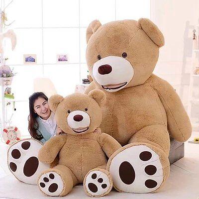 MorisMos Huge Big Teddy Bear With Foorprints Soft Toy Stuffed Animal Plush Toys