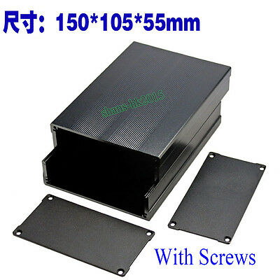 15010555mm Aluminum Box Circuit Board Enclosure Case Project Electronic Diy