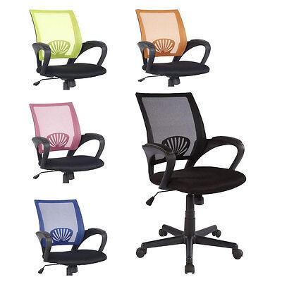 SixBros. Bürostuhl Drehtstuhl Schreibtischstuhl Farbwahl HLC-0551