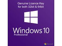 Microsoft Windows 10 Professional 32/64bit Genuine Licence Key - Emsworth