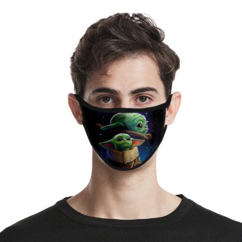 Star Wars The mandalorian Baby Yoda Cosplay Mask Face Masks Prop
