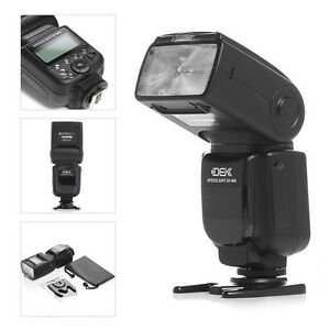 Speedlight Speedlite Flash For Canon EOS Rebel T5i T4i T3i T3 T2i XTi XT XSi SL1