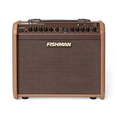 Fishman Loudbox Mini Charge Acoustic Guitar/Vocal Amplifier 60-Watt 1x6.5""