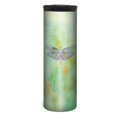 Vibrant Dragonfly Barista Tumbler Travel Mug - 17 oz Stainless Steel