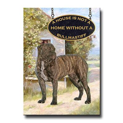 BULLMASTIFF House Is Not A Home FRIDGE MAGNET No 2 DOG