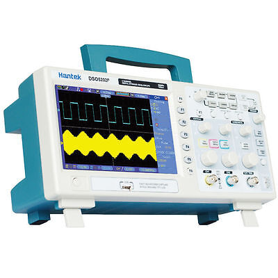 DSO5202P 2Channels 7'' TFT LCD 800x480 USB Digital Oscilloscope 1GS/s 200MHz UK!