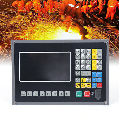 Flameplasma Cutting Machine Control System 2-axis 7 Color Lcd Cnc Controller