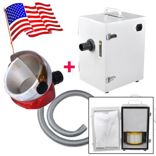 Portable Dental Lab Digital Single-Row Dust Collector Vacuum Cleaner Equipment*