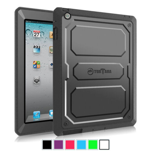 Fintie Dual layer Tuatara Case For Apple iPad 2/3/4 W/Built-