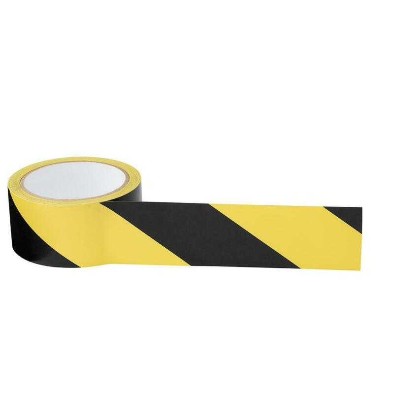2 in. x 54 ft. Adhesive Safety Hazard Marking Tape Yellow and Black Striped